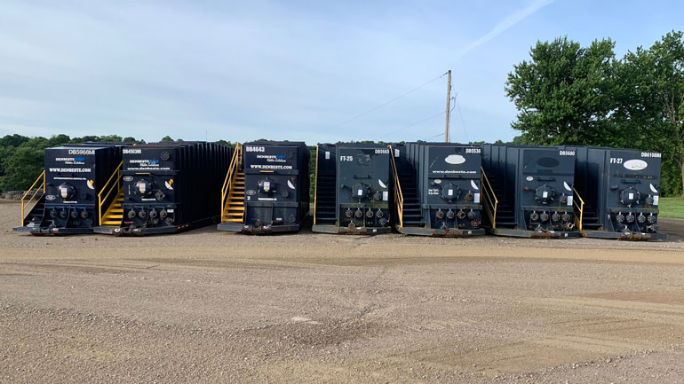 Dow Cameron Oil & Gas Oil Frac Tank Rentals For Water Storage