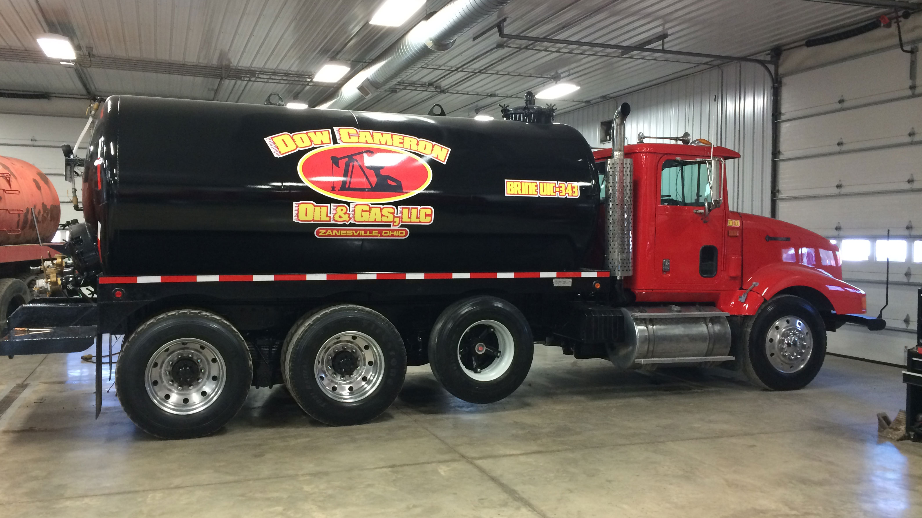 Dow Cameron Oil Gas Trucking Water Hauling Rigging Fracking Services Ohio Storage Water Hauling
